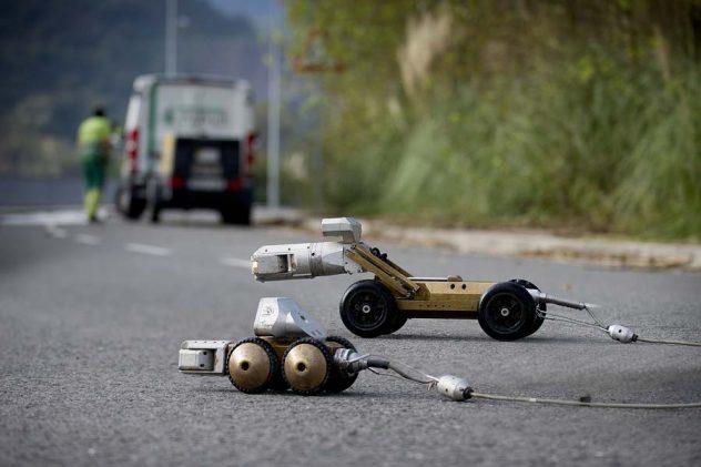Equipos robotizados para inspección de tuberías con cámara
