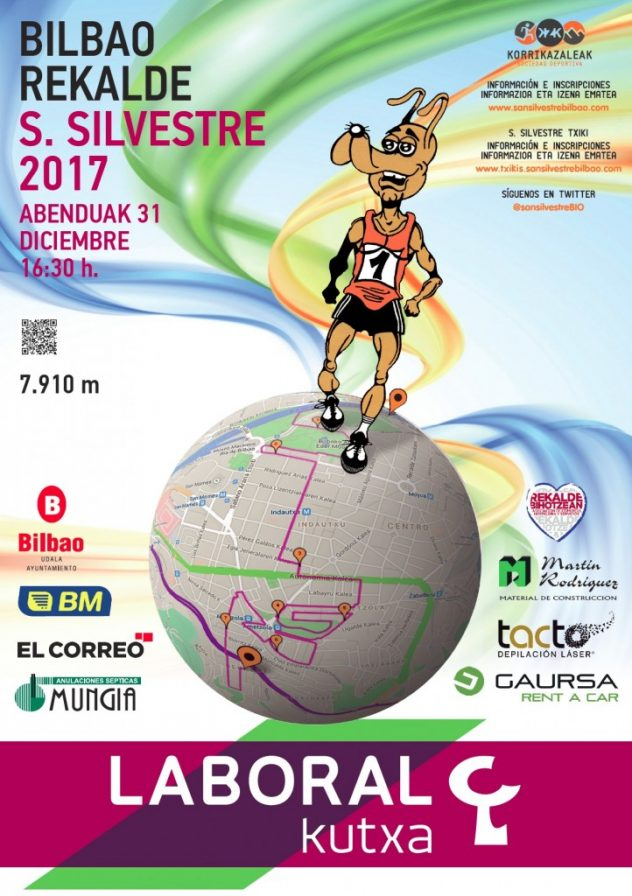 San Silvestre Bilbao 2017 - Cartel