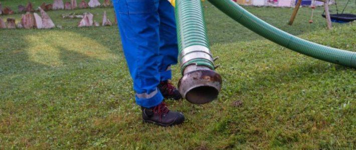 ¿Cómo se desarrolla el proceso de limpieza de una fosa séptica?