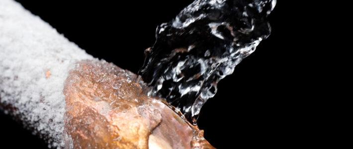 ¿Qué hacer si tus tuberías se congelan?