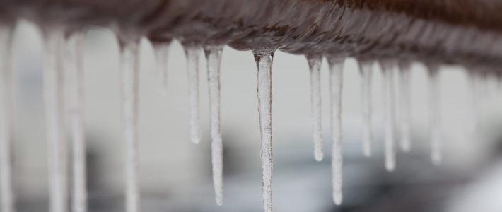 ¿Cómo evitar que se congelen las tuberías?