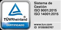 logotipo del certificado ISO 9001:20000